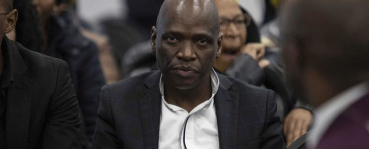 FILE: Hlaudi Motsoeneng at the state capture commission on 19 July 2019. Picture: Abigail Javier/EWN