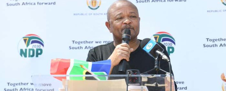 Public Service and Administration Minister Senzo Mchunu. Picture: @thedpsa/Twitter.