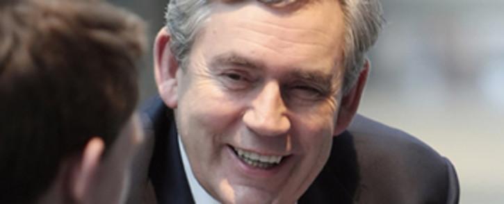 FILE: Gordon Brown urged Boko Haram to free the Nigerian schoolgirls it has held for 10 months.