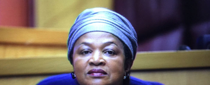 National Assembly Speaker Baleka Mbete attends a press briefing on 17 February 2015. Picture: Thomas Holder/EWN