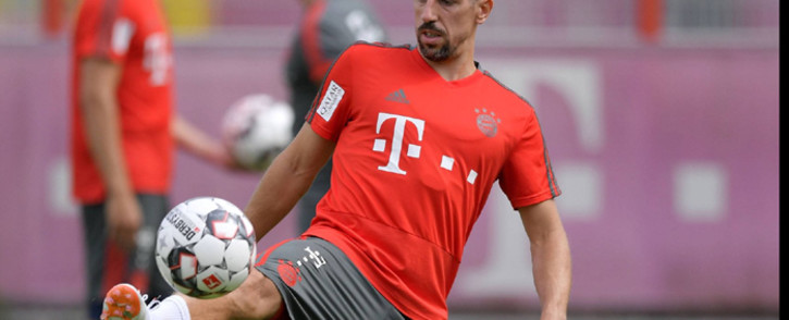 French striker Franck Ribery. Picture: @FCBayern/Twitter.