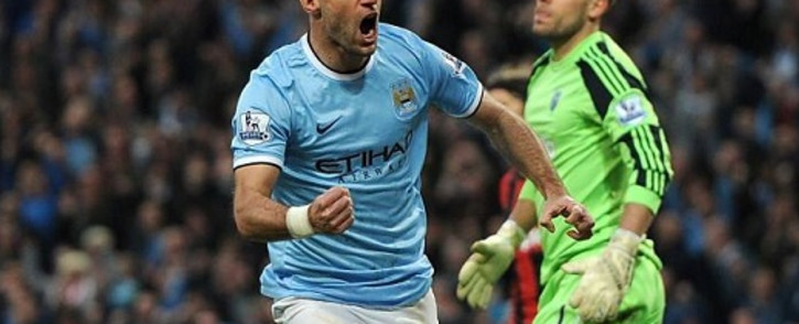 FILE: This file photo shows Pablo Zabaleta for Manchester City as he wheels away after opening the scoring for his side against West Brom. Picture: Facebook.com