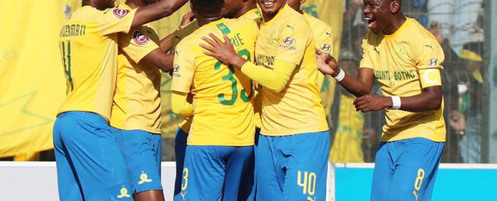 FILE: Mamelodi Sundowns players. Picture: @Masandawana/ Twitter.