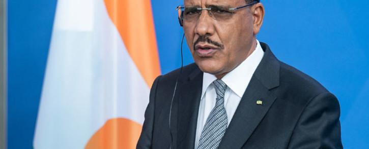 FILE: Niger's President Mohamed Bazoum. Picture: Bernd von Jutrczenka/AFP