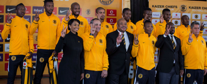 Kaizer Chiefs unveiled eight new signings on 27 June 2016 ahead of next season. Picture: Christa Eybers/EWN.