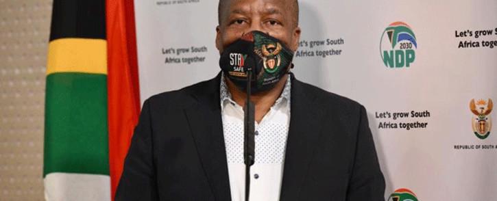 Minister in the Presidency Jackson Mthembu. Pictire: GCIS.