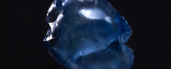A 29.6 carat blue diamond has been discovered at a South African mine by Petra Diamonds. Picture: www.petradiamonds.com.
