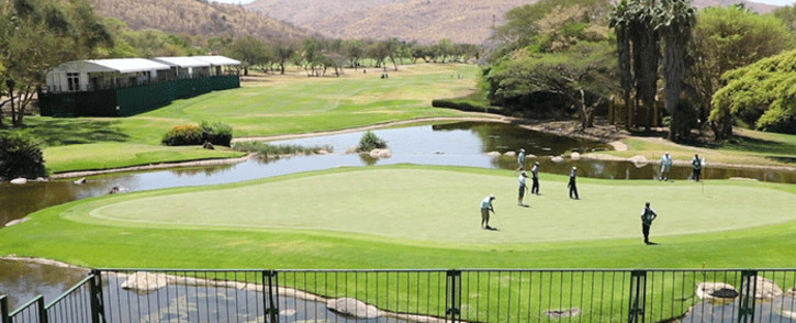 FILE: Behind the scenes of the Nedbank Golf Challenge. Picture: EWN.