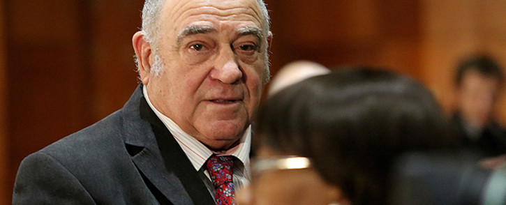Judge Thekiso Musi accused Simmy Lebala of moving in circles when questioning Ronnie Kasrils. Picture: Sebabatso Mosamo/EWN