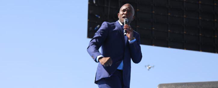 DA leader Mmusi Maimane. Picture: Christa Eybers