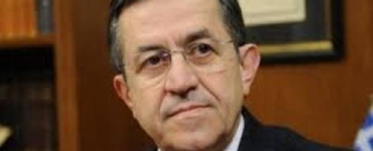 Greece Deputy Labour Minister Nikos Nikolopoulos resigns on 9 July, 2012. Picture: AFP