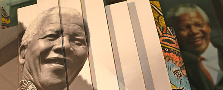 FILE: Large posters depicting Nelson Mandela's life are displayed in the Cape Town Civic Centre. Picture: Aletta Gardner/EWN.