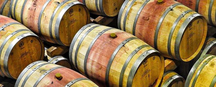 FILE: A general view of wine barrels a Groot Constantia. Picture: Pixabay.com.