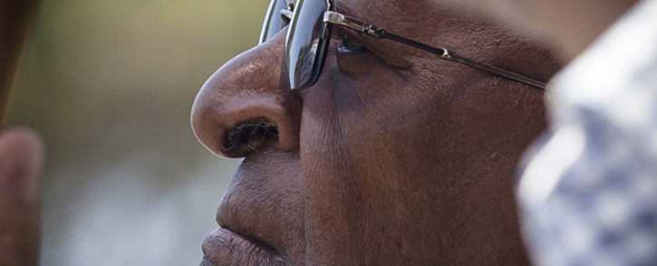 FILE: Archbishop Emeritus Desmond Tutu has thanked those who have been supporting him throughout his illness.