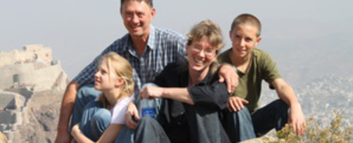 FILE. The Korkie family (From left): Lize-Mari, Pierre, Yolande and Pieter-Ben. Picture: Gift of the Givers