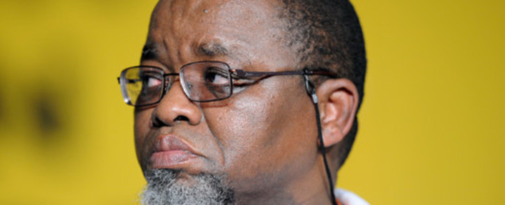 African National Congress (ANC) Secretary General Gwede Mantashe. Picture: AFP.