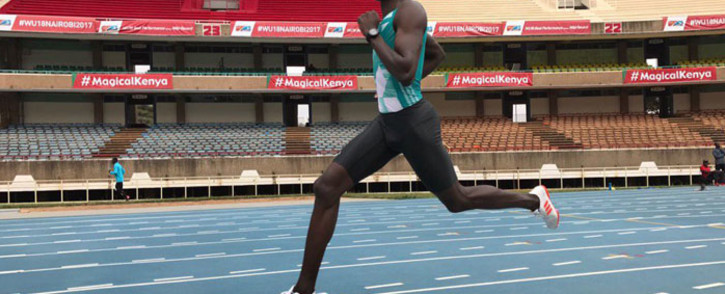 Kenyan middle distance runner David Rudisha. Picture: Twitter/@rudishadavid
