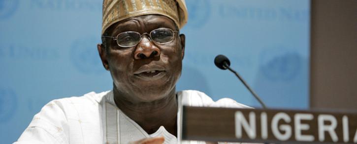 FILE: Former Nigerian President Olusegun Obasanjo. Picture: United Nations Photo
