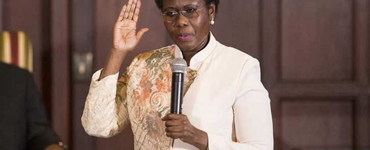 FILE: Minister of State Security Dipuo Letsatsi-Duba. Picture: EWN