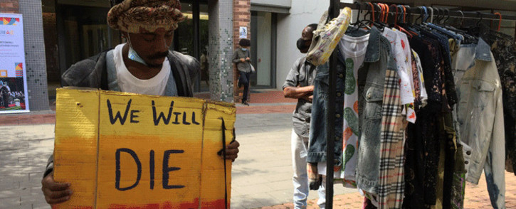 FILE: South African artists are seeking legal redress over the presidential employment stimulus package. Picture: Veronica Makhoali/Eyewitness News.