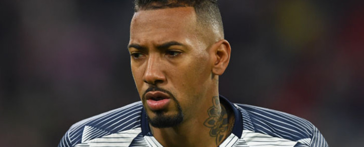 Bayern Munich's defender Jerome Boateng is pictured during the warm-up prior to the German Cup (DFB Pokal) round of 16 match against TSG 1899 Hoffenheim in Munich, southern German on 5 February 2020. Picture: AFP