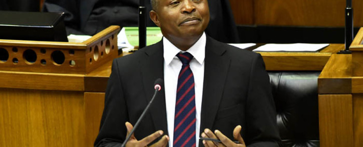 Deputy President David Mabuza responds to Questions for Oral Reply in the National Assembly, Parliament. Picture: GCIS.
