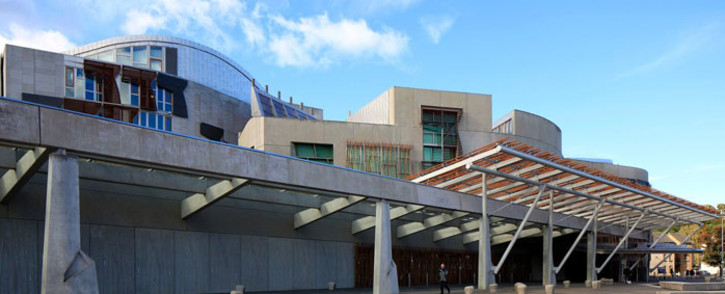 A general view of the Scottish devolved parliament in Edinburgh. Picture: @ScotParl /Twitter.