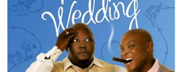 Actors Rapulana Seiphemo and Kenneth Nkosi. Picture: Supplied.
