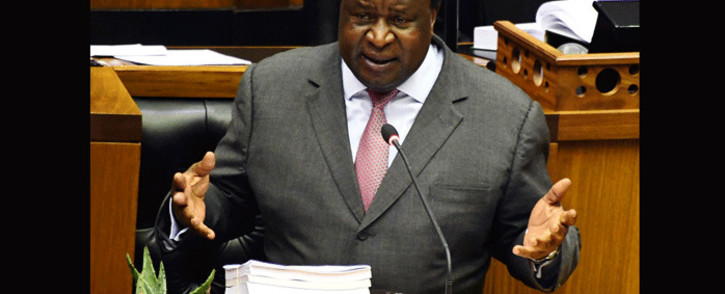 Finance Minister Tito Mboweni delivers 2020 Budget Speech in Parliament, Cape Town, on 26 February 2020. Picture: GCIS.