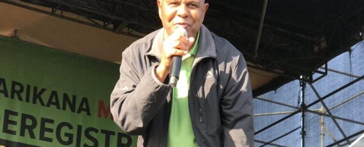 Amcu president Joseph Mathunjwa. Picture: @Amcu/Twitter