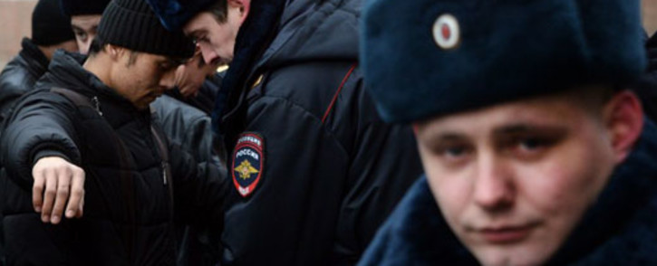 Russian police. Picture: AFP.