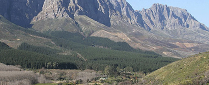 FILE: Jonkershoek Mountains in the Western Cape. Picture: capenature.co.za
