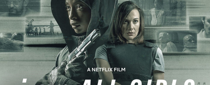 'I Am All Girls' stars Hlubi Mboya in the lead role as 'Ntombizonke' and Erica Wessels as her determined colleague, 'Jodie Synman'. Picture: Netflix/Supplied.