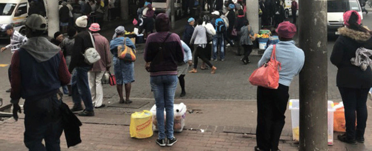 FILE: Many commuters were left stranded as a national bus strike got underway on 18 April 2018. Picture: Graig-Lee Smith/EWN