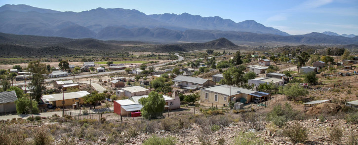 The town of Zoar just outside of Ladismith in the Karoo. Picture: Cindy Archillies/EWN