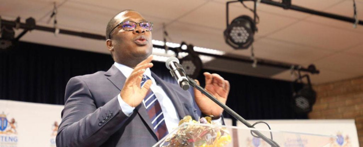 Gauteng Education MEC Panyaza Lesufi. Picture: Ahmed Kajee/EWN.