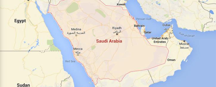 Saudi Arabia. Picture: Google Maps.