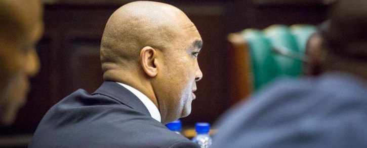 NPA director Shaun Abrahams in Parliament. Picture: Anthony Molyneaux/EWN