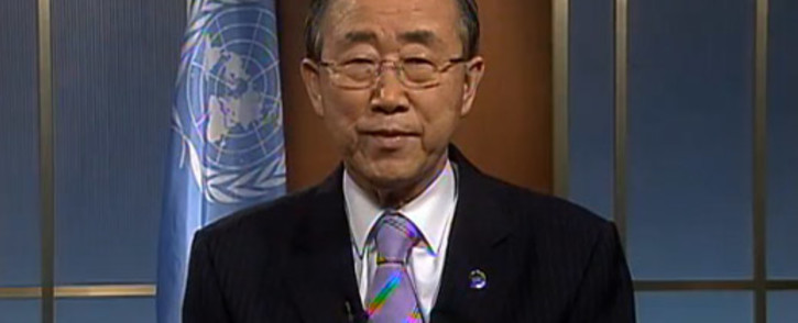 UN Secretary General Ban ki Moon. Picture: UN.