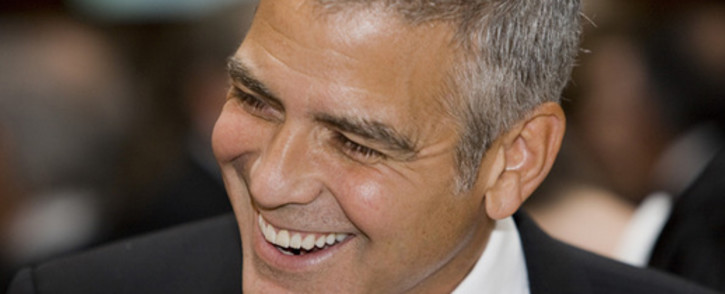 American actor George Clooney. Picture: AFP.
