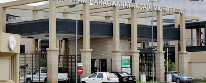 FILE: Chris Hani Baragwanath Academic Hospital. Picture: EWN