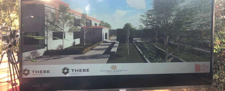 Former President Nelson Mandela's Houghton home will be renovated into a world-class boutique hotel. Picture: Mia Lindeque/EWN.