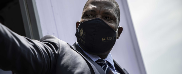 Gauteng Education MEC Panyaza Lesufi inspected and closed two illegal schools in Ivory Park on 8 October 2020. Picture: Abigail Javier/EWN
