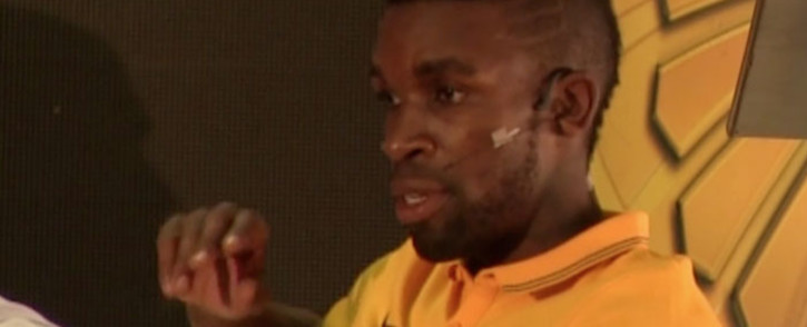 FILE: Kaizer Chiefs captain Tefu Mashamaite at media briefing with Orlando Pirates ahead of the Soweto derby clash on 7 March 2015: Picture: EWN.