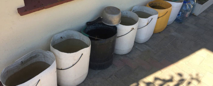 Capetonians are getting creative when it comes to saving water. Picture: Kevin Brandt/EWN.