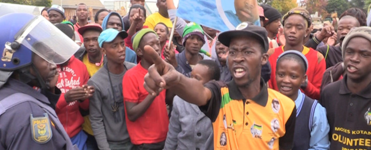 Coligny community members outraged as murder accused granted bail. Picture: Kgothatso Mogale/EWN