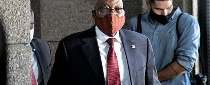 FILE: Former President Jacob Zuma on 16 November 2020. Picture: Xanderleigh Dookey/Eyewitness News.
