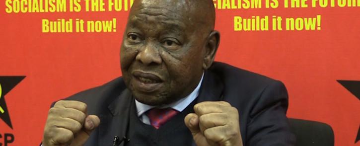SACP general secretary Blade Nzimande has spoken to Eyewitness News.Picture Kgothatso Mogale/EWN