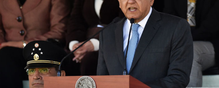 FILE: Mexican President Andres Manuel Lopez Obrador. Picture: AFP