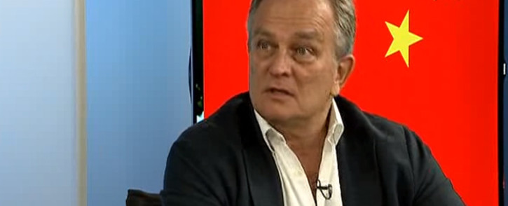 FILE: A screengrab of new CEO of the South African Post Office, Mark Barnes. Picture: BDTV.